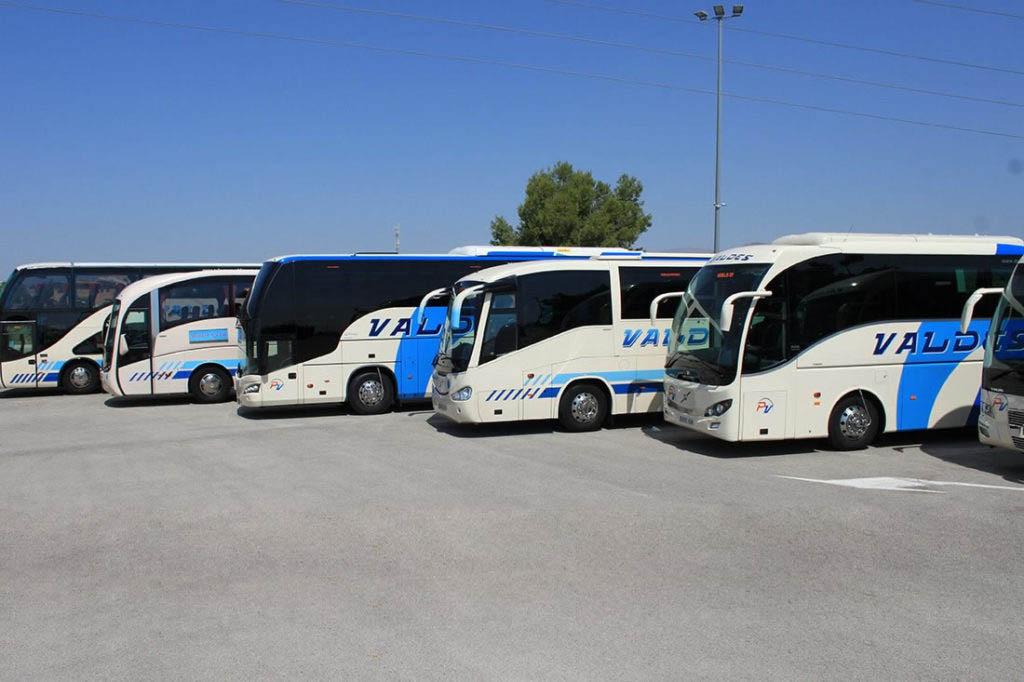 Flota de autobuses de Valdés